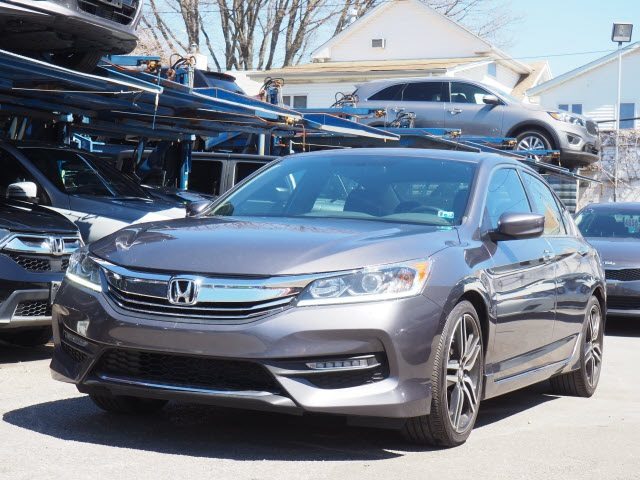 Pre Owned 2017 Honda Accord Sport Special Edition 4d Sedan In Brooklyn Ua3539p Acura Of