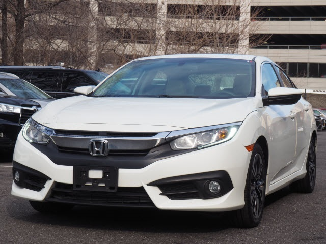 Pre Owned 2016 Honda Civic Ex L 4d Sedan In Brooklyn Uh4976p Acura Of