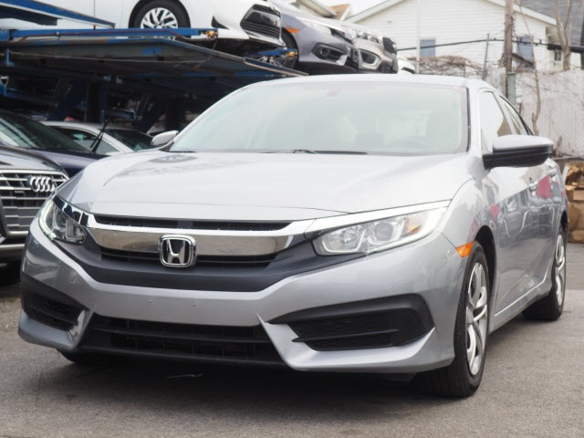 Pre Owned 2016 Honda Civic Lx 4d Sedan In Brooklyn Uh5072p Acura Of