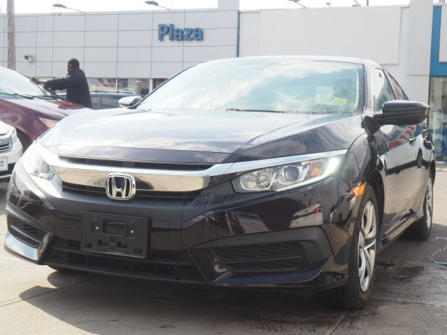 Pre Owned 2016 Honda Civic Lx 4d Sedan In Brooklyn Uh4951lr Acura Of